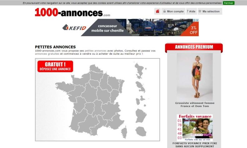 Annonce immobilière au Sénégal: Site d'annonces immobilières: 1000-annonces.com