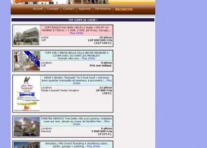 Annonce immobilière au Sénégal: Central-immo.net