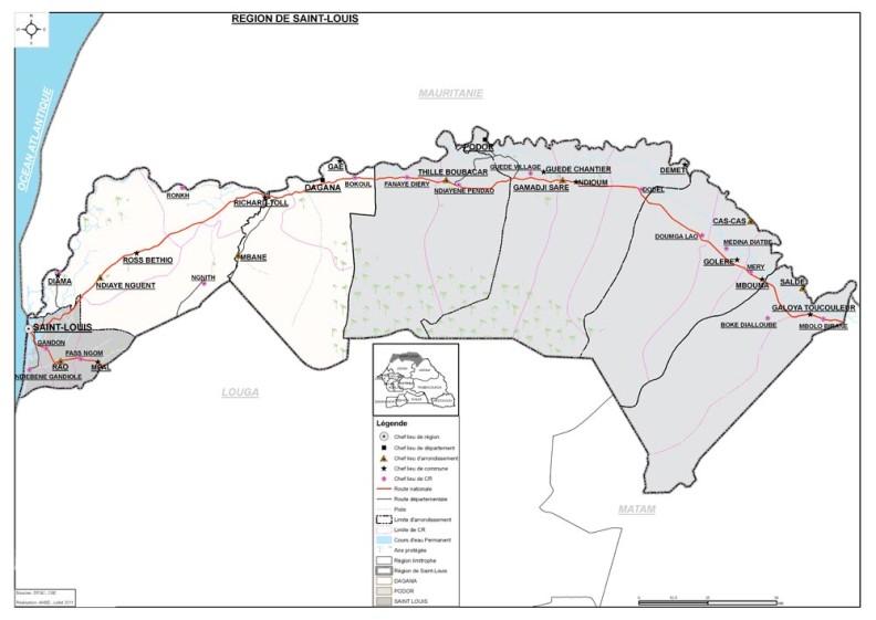 Agence immobilière Sénégal : Liste des agences immobilières au Sénégal: Région de Saint Louis